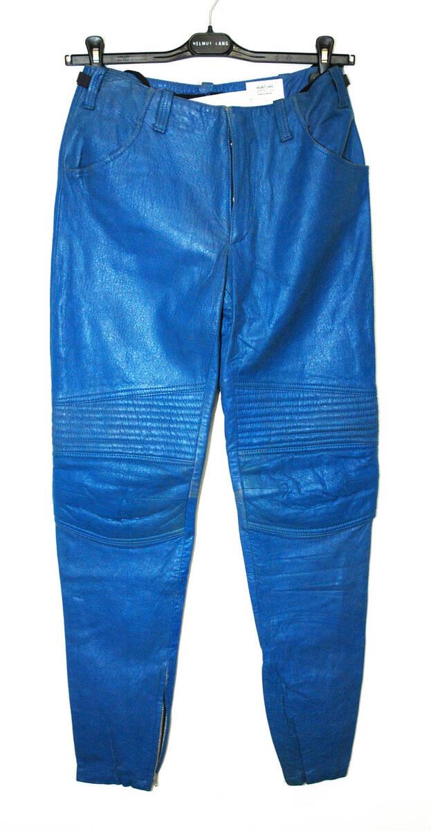 Hose - blau (deskriptiver Titel) von Lang, Helmut