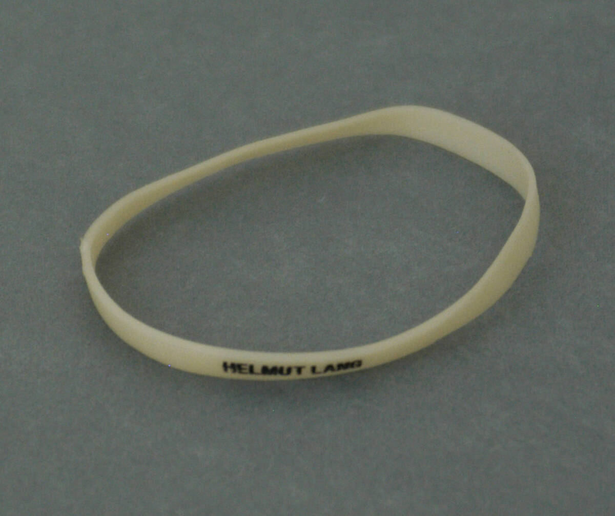 Armband - beige (deskriptiver Titel) von Lang, Helmut