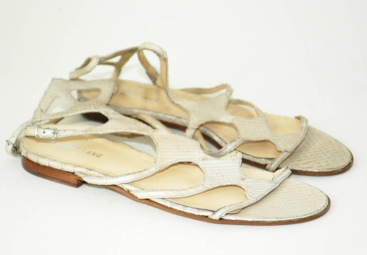 Sandale (Paar) - beige (deskriptiver Titel) von Lang, Helmut