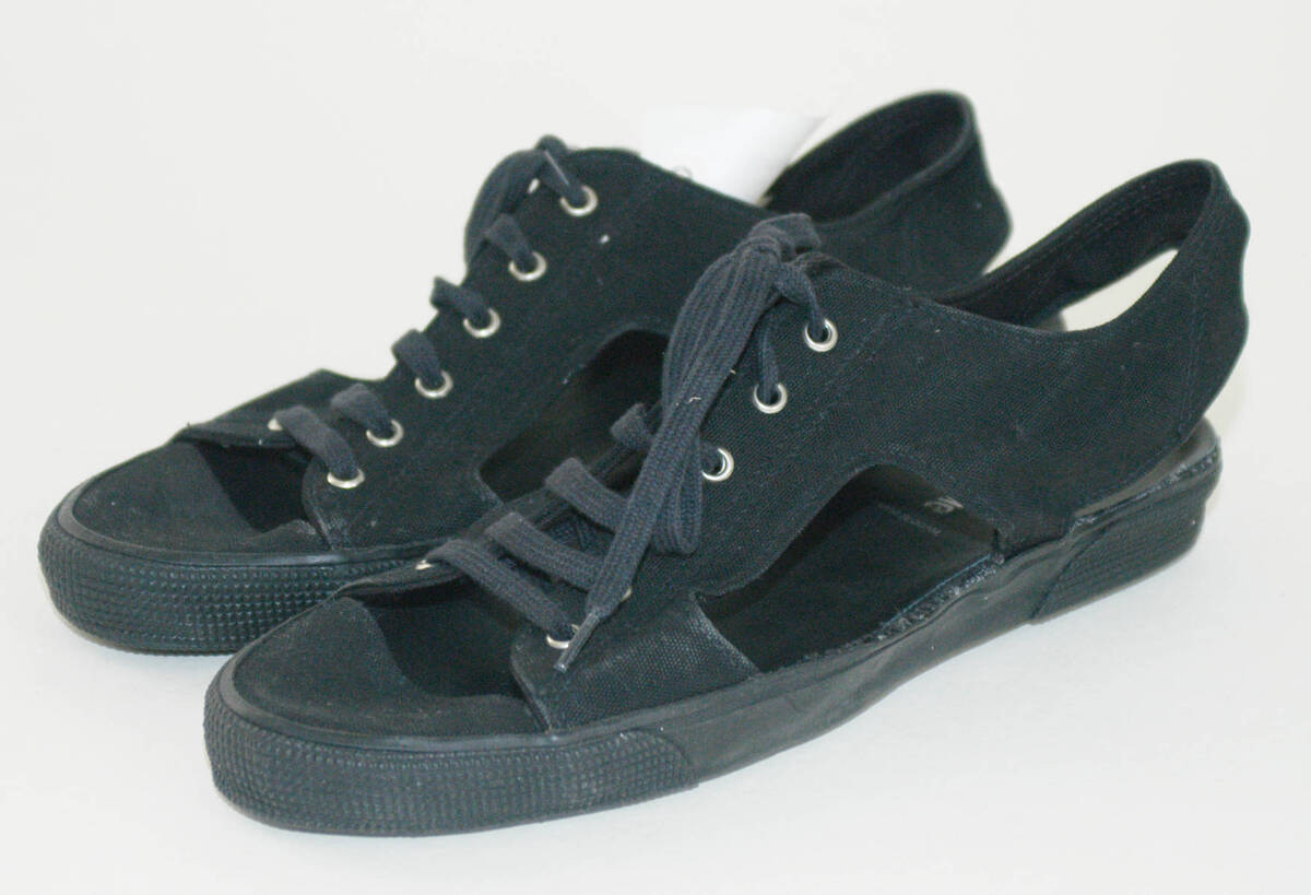 Sandale (Paar) - schwarz von Lang, Helmut