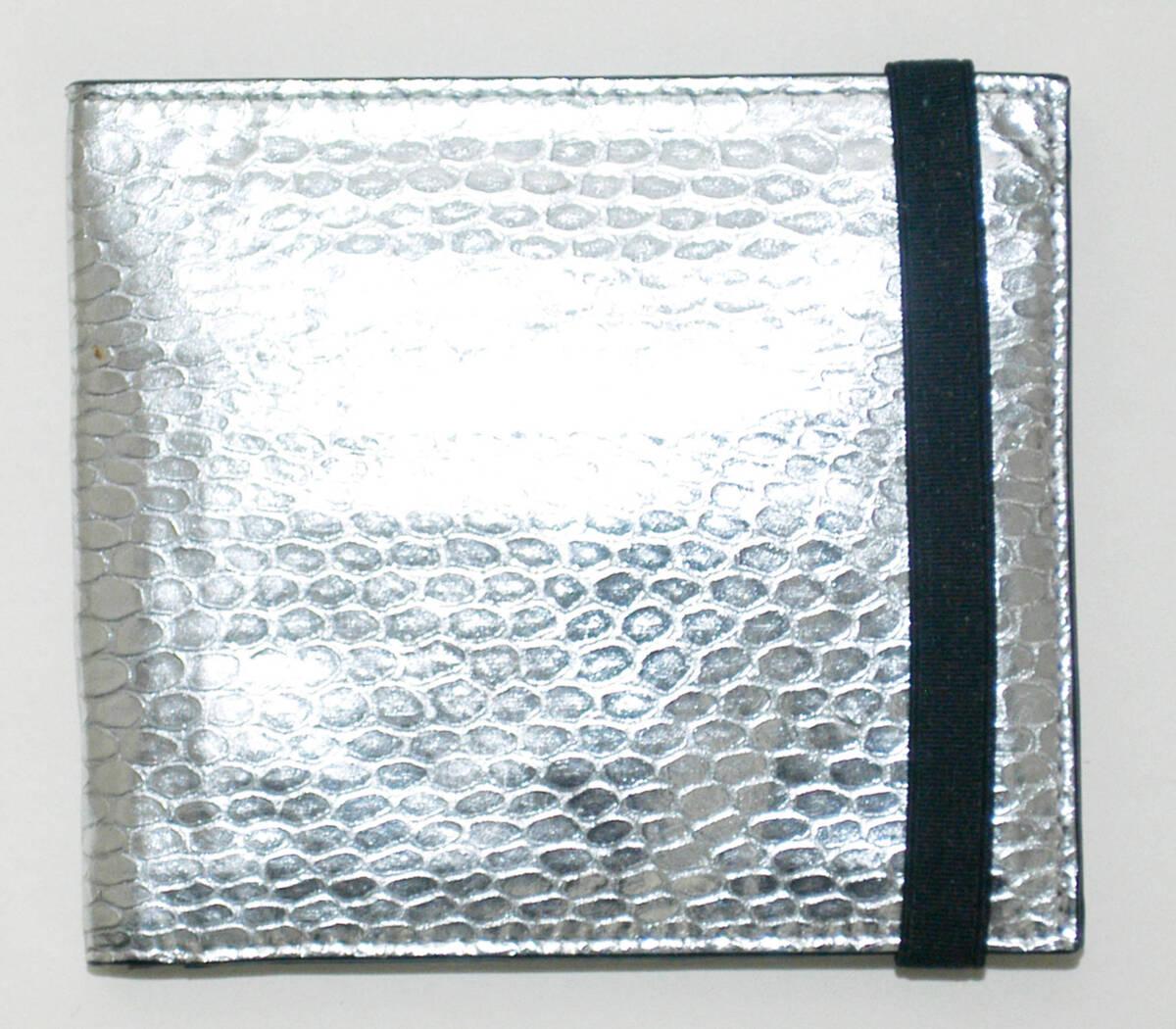 Portemonnaie - silber/schwarz (deskriptiver Titel) von Lang, Helmut