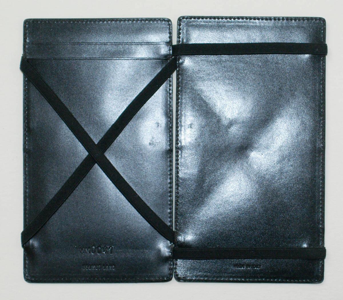 Portemonnaie - schwarz (deskriptiver Titel) von Lang, Helmut