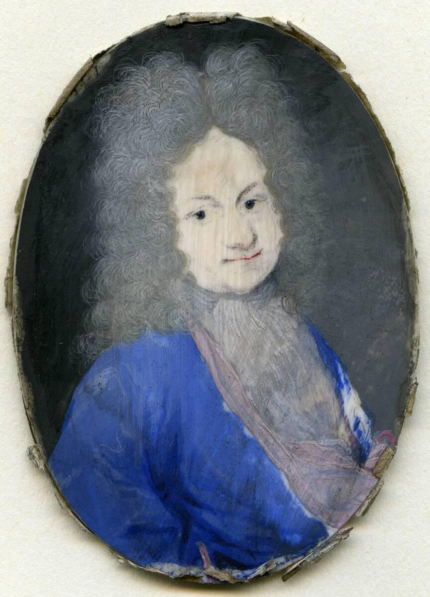Miniaturporträt des Giacomo Monferi (aus dem Inventar übernommener Titel) von Anonym
