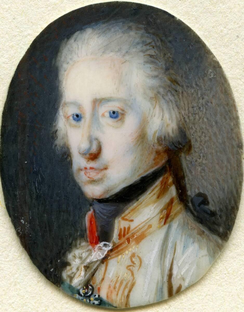 Miniaturporträt des Erzherzog Karl von Anonym