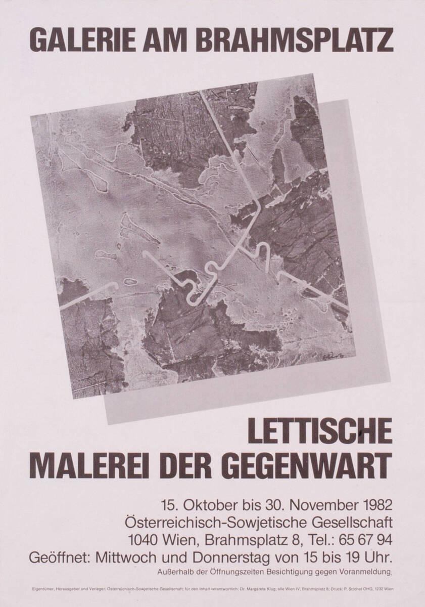 Lettische Malerei der Gegenwart (Kurztitel) von Anonym