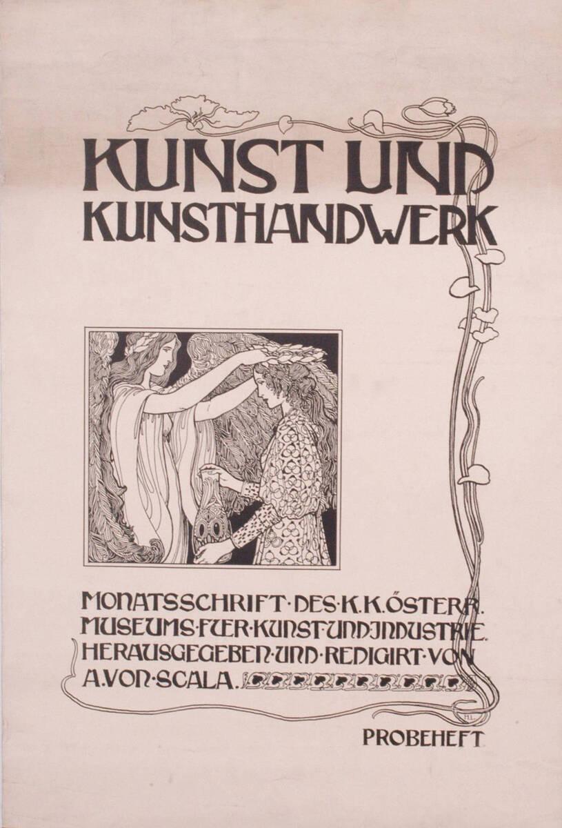 Kunst und Kunsthandwerk (Kurztitel) von Scala, Arthur von