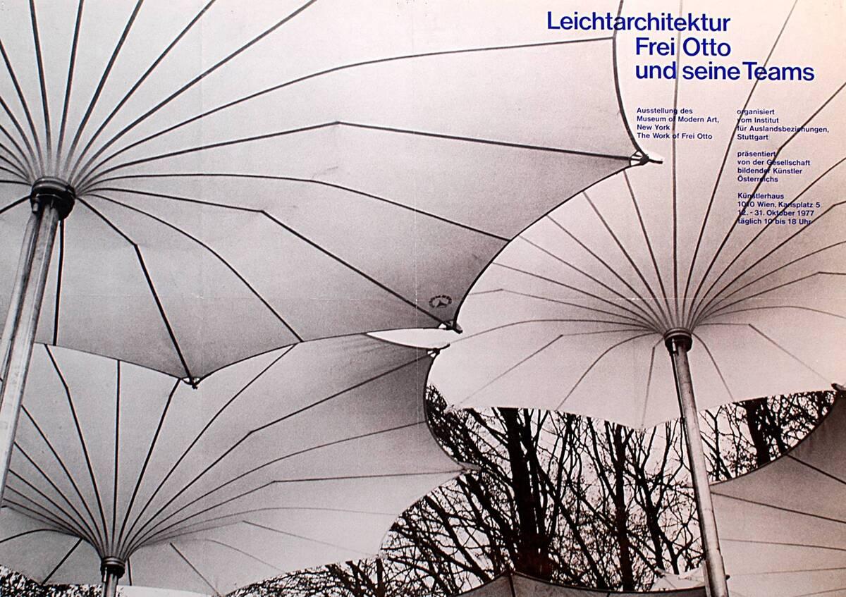 Leichtarchitektur Frei Otto und seine Teams. (Kurztitel) von Anonym