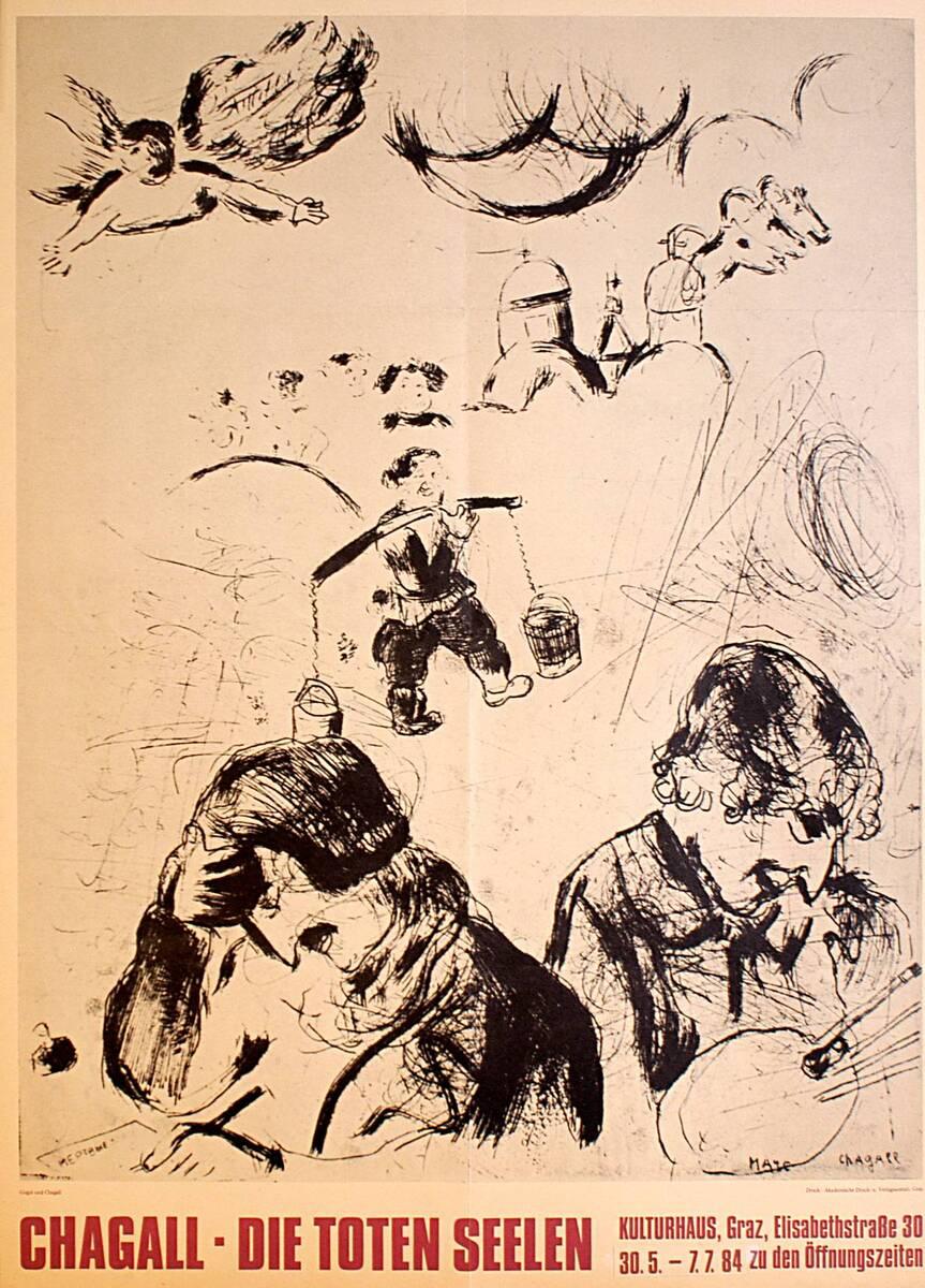 Chagall. Die Toten Seelen (Kurztitel) von Kulturhaus Graz