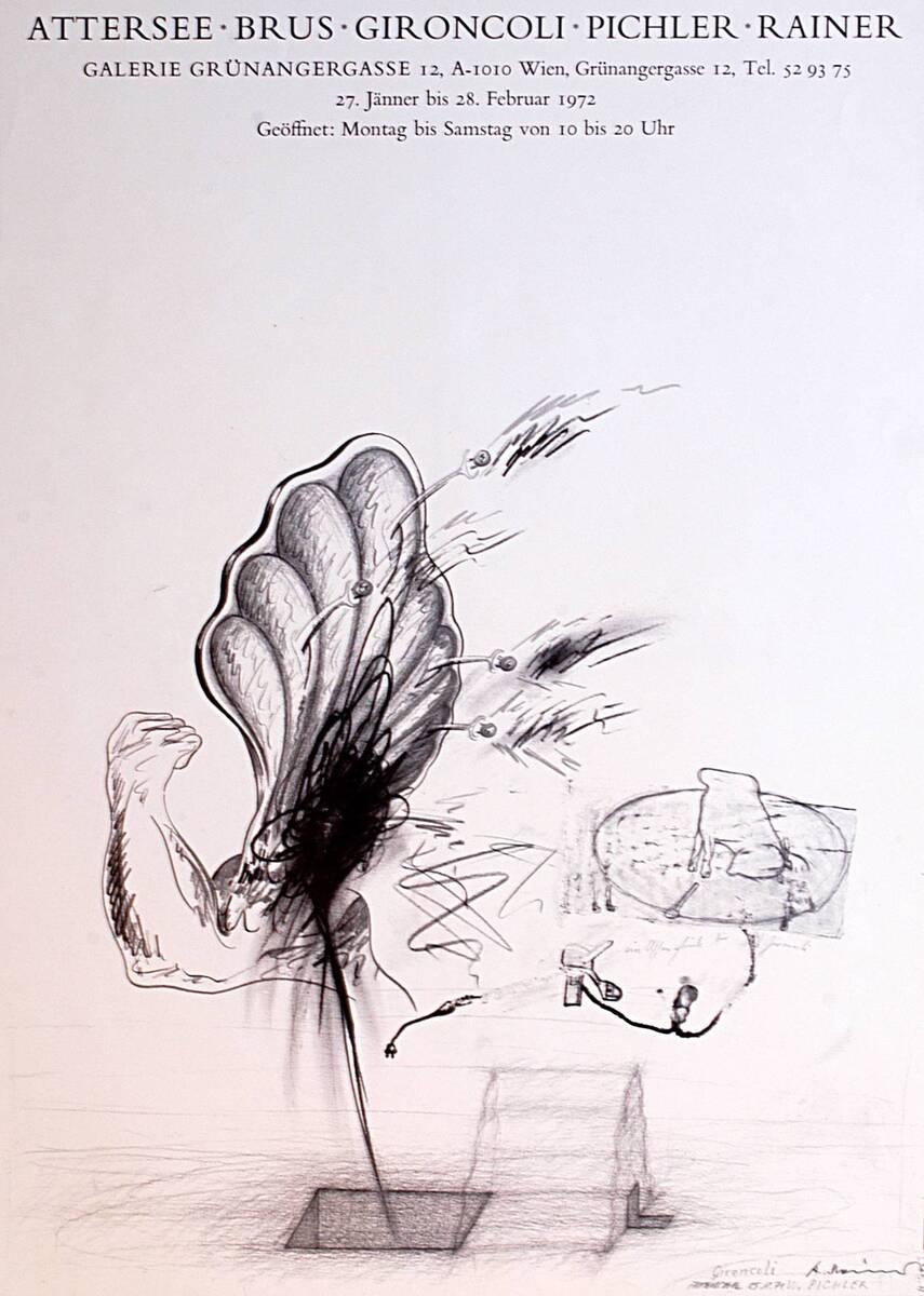 Attersee Brus Gironcoli Pichler Rainer (Kurztitel) von Gironcoli, Bruno
