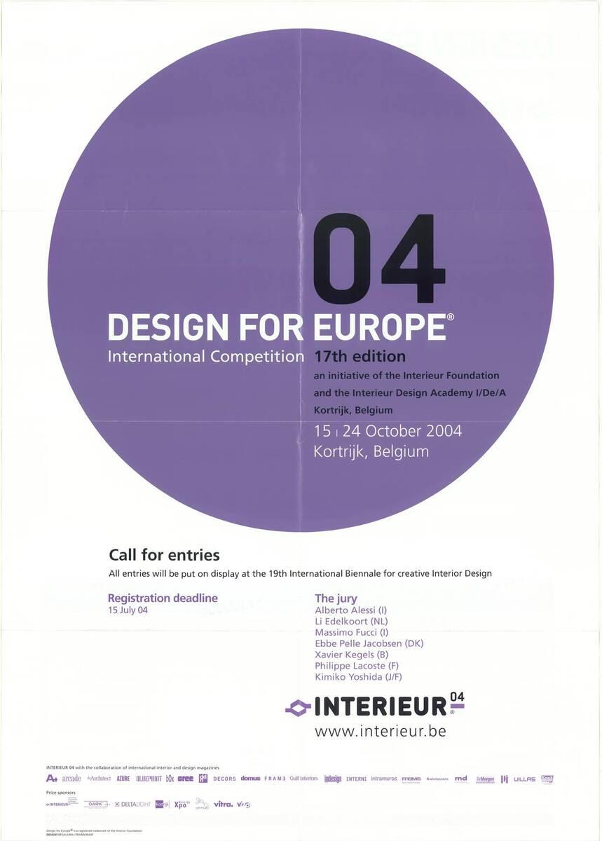 Design for Europe 04 (Kurztitel) von Anonym