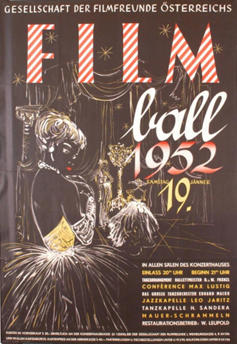 Filmball 1952 (Kurztitel) von Anonym