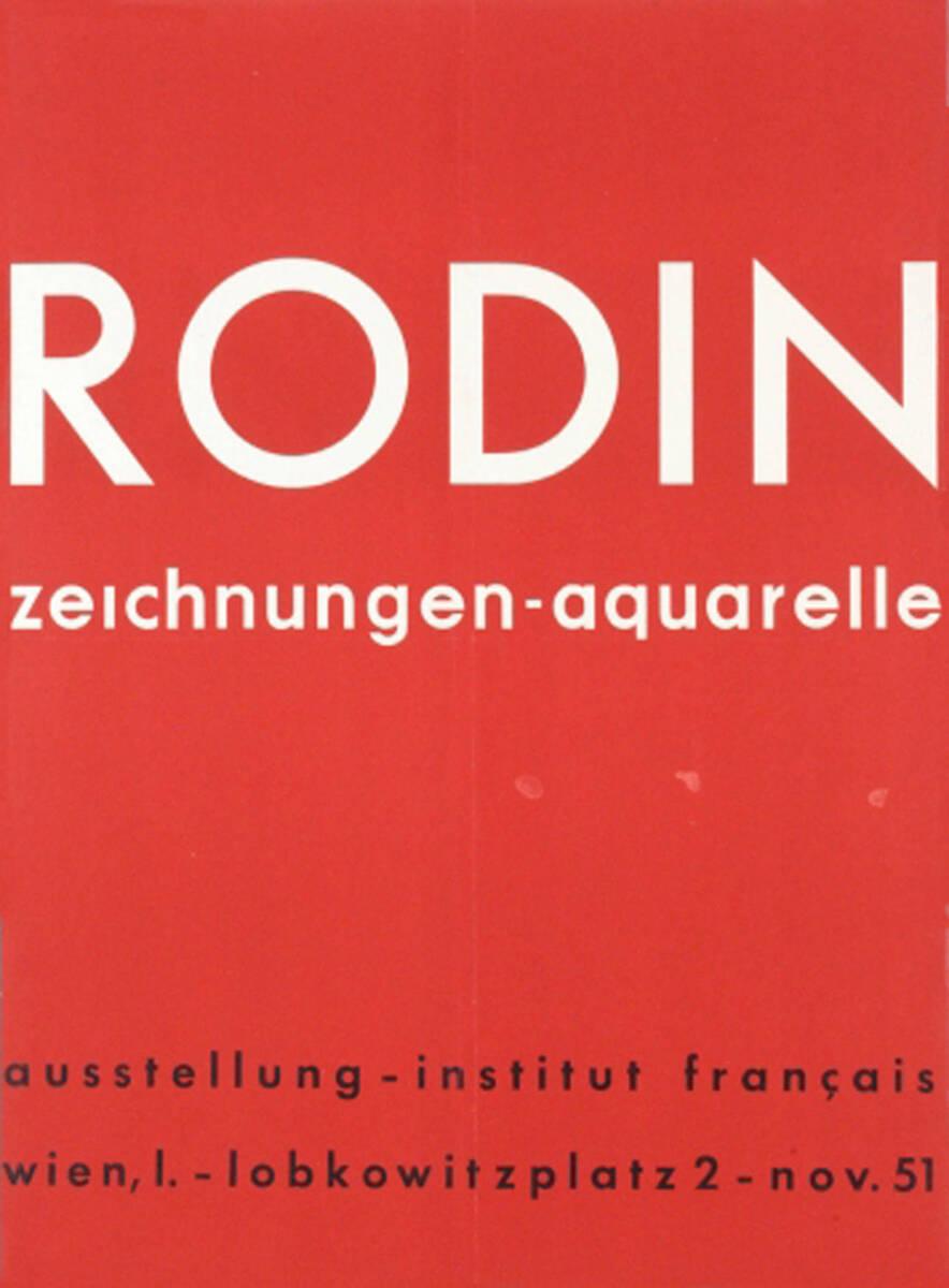 Rodin (Kurztitel) von Anonym