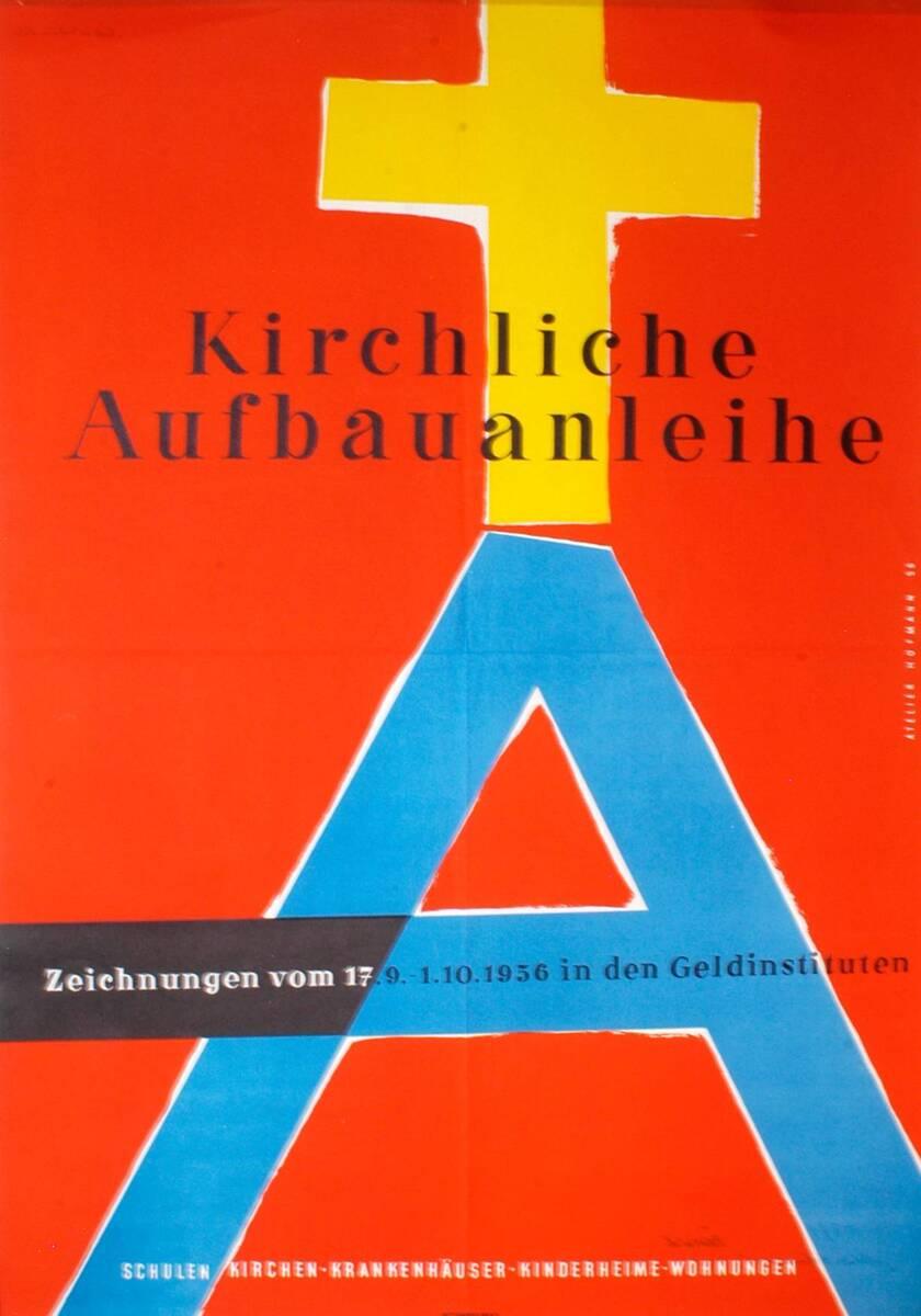 Kirchliche Aufbauanleihe (Kurztitel) von Atelier Hofmann <Wien>
