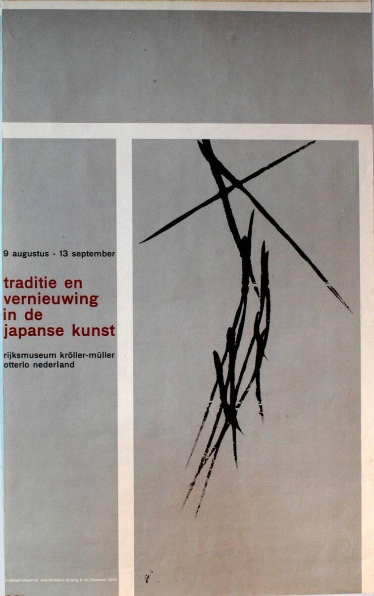 Traditie en vernieuwing in de japanse kunst (Kurztitel) von Anonym
