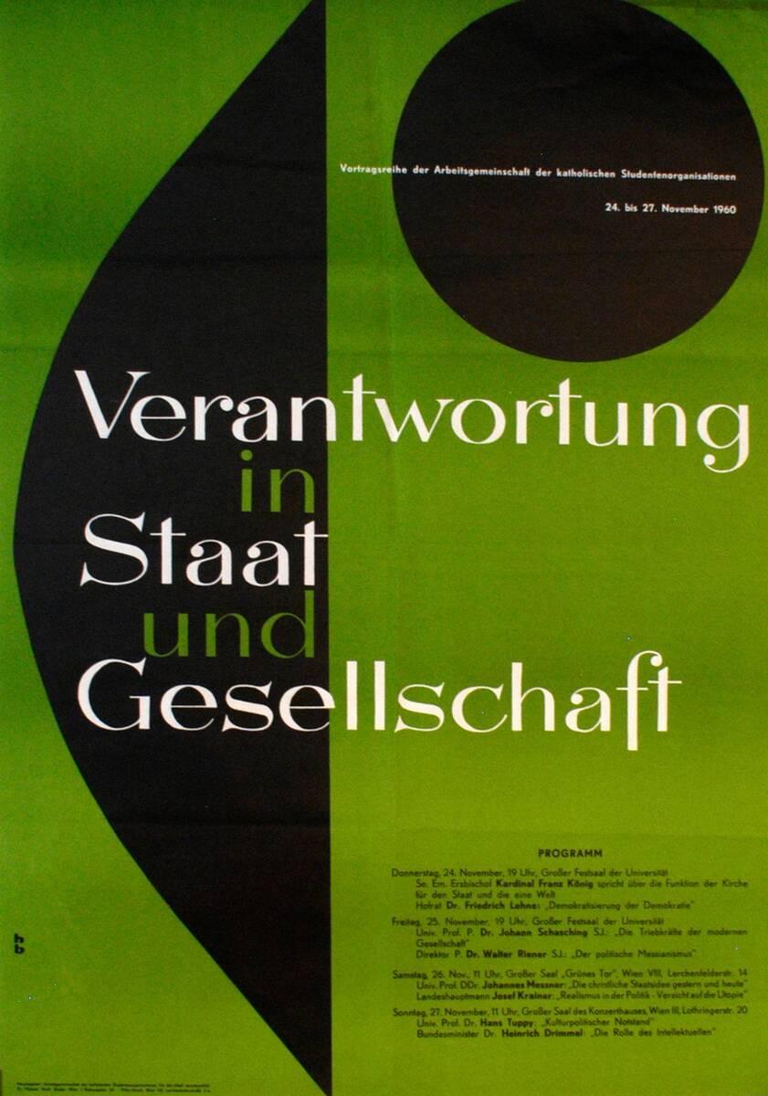 Verantwortung in Staat und Gesellschaft (Kurztitel) von HB [Monogr.]