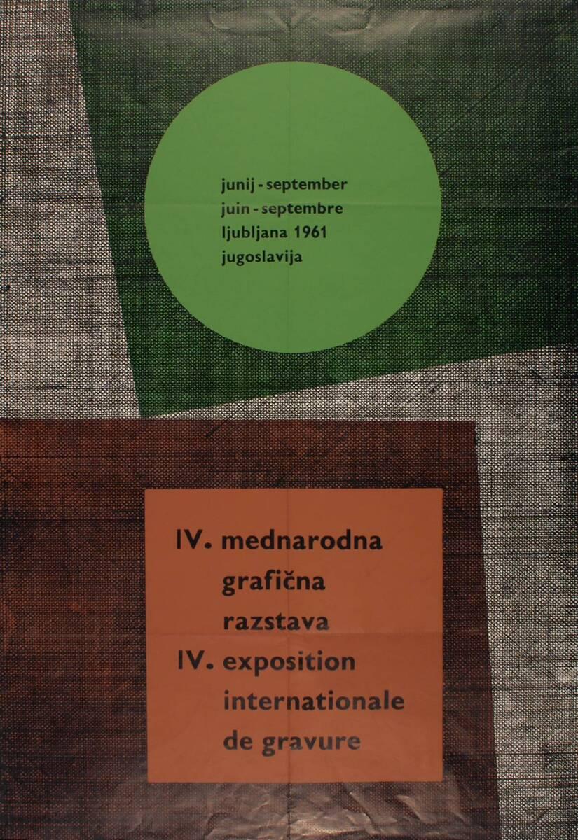 IV. Exposition internationale de Gravure (Kurztitel) von Anonym