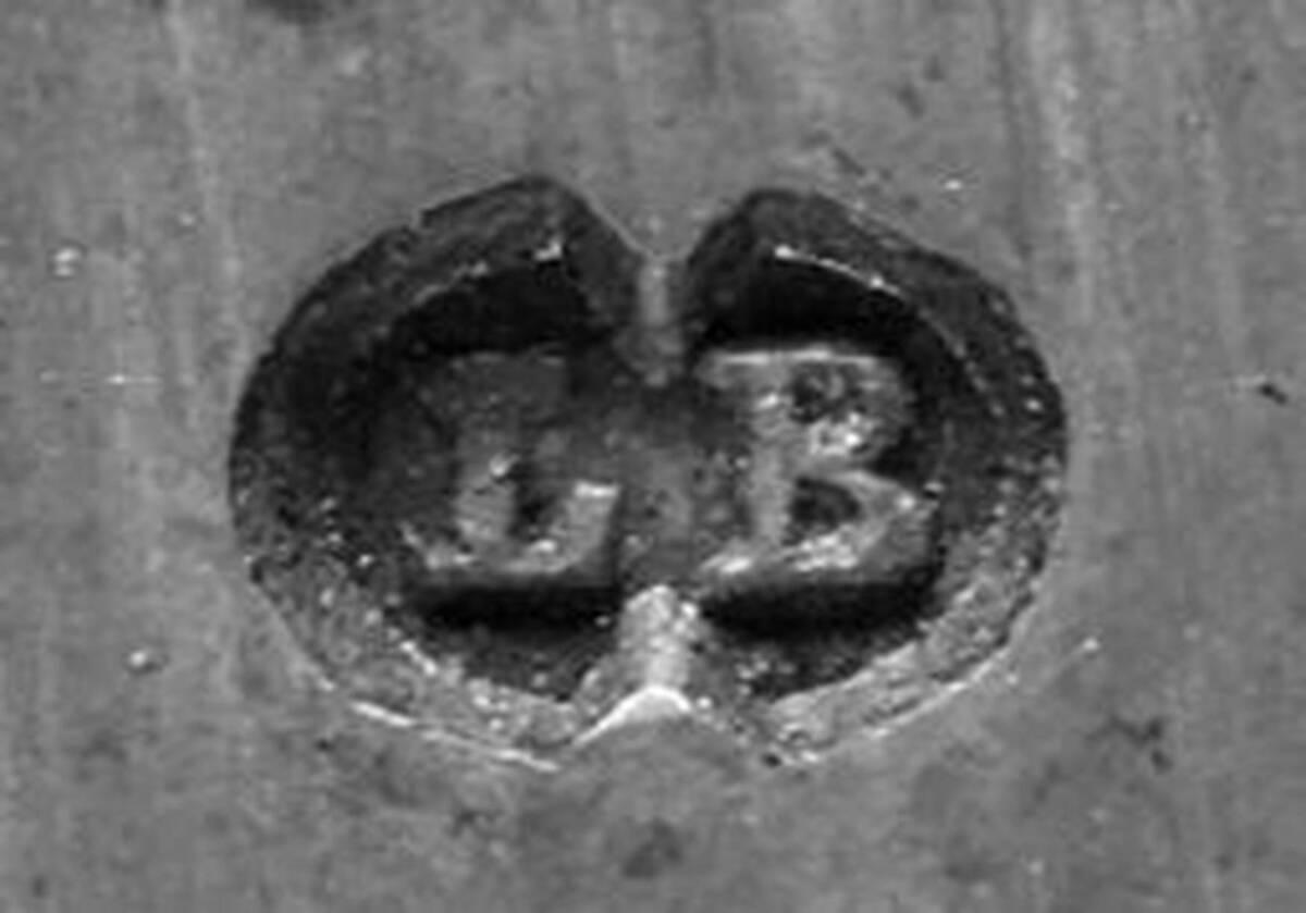 Digitales Foto einer Punze von Bernhard, Leopold