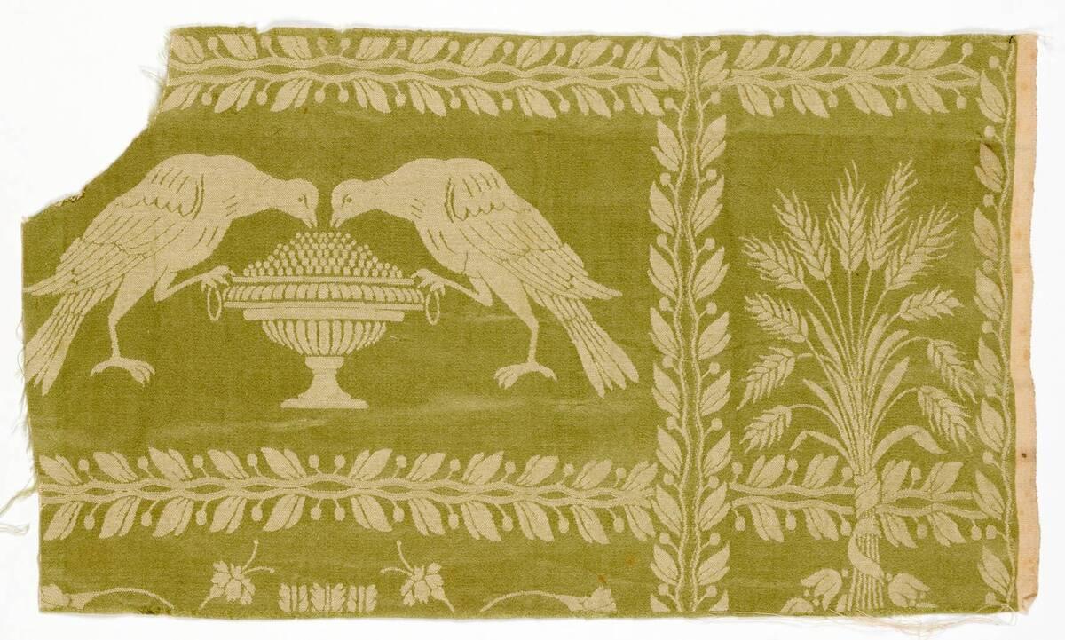 Stilkopie eines Musters des frühen 19. Jahrhunderts von Anonym