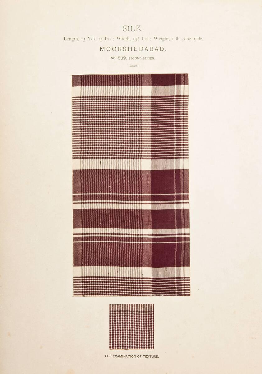 Silk., No. 539 (Originaltitel) von Anonym