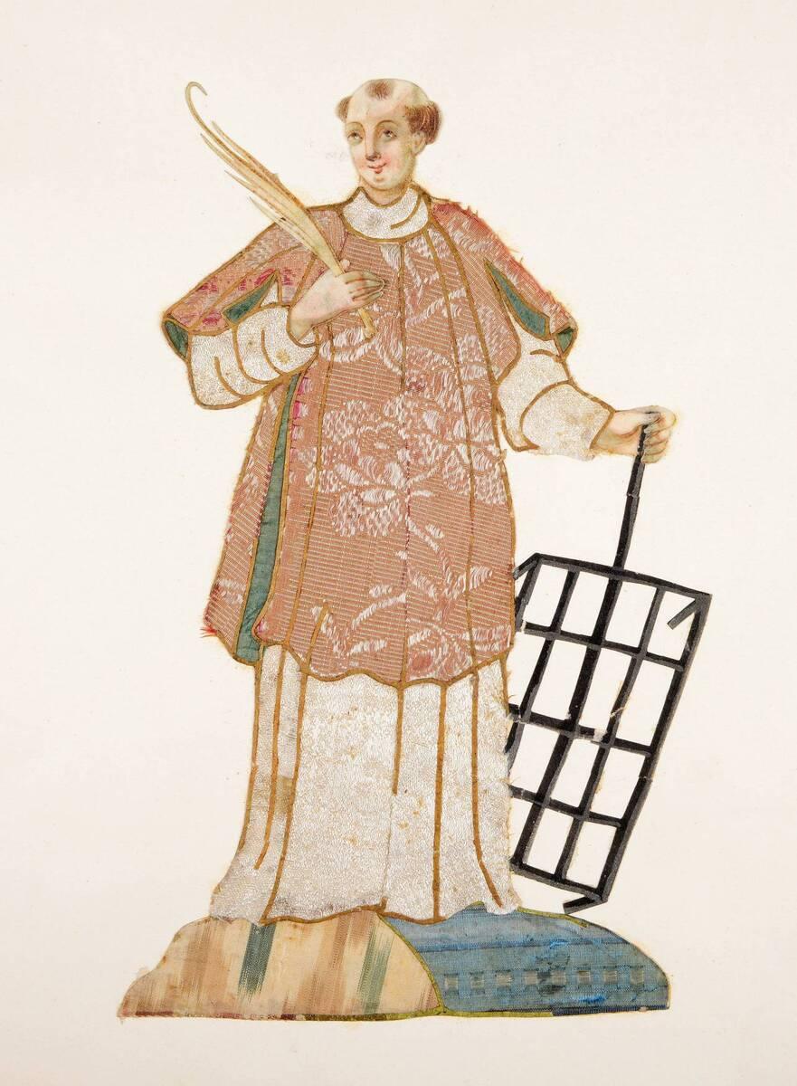 Heiliger Laurentius von Anonym