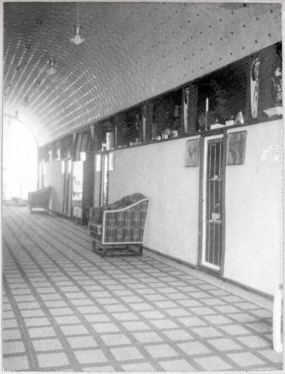 Halle der Sonderausstellung der Wiener Werkstätte, Hohenzollern-Kunstgewerbehaus Berlin, Herbst 1904 von Anonym