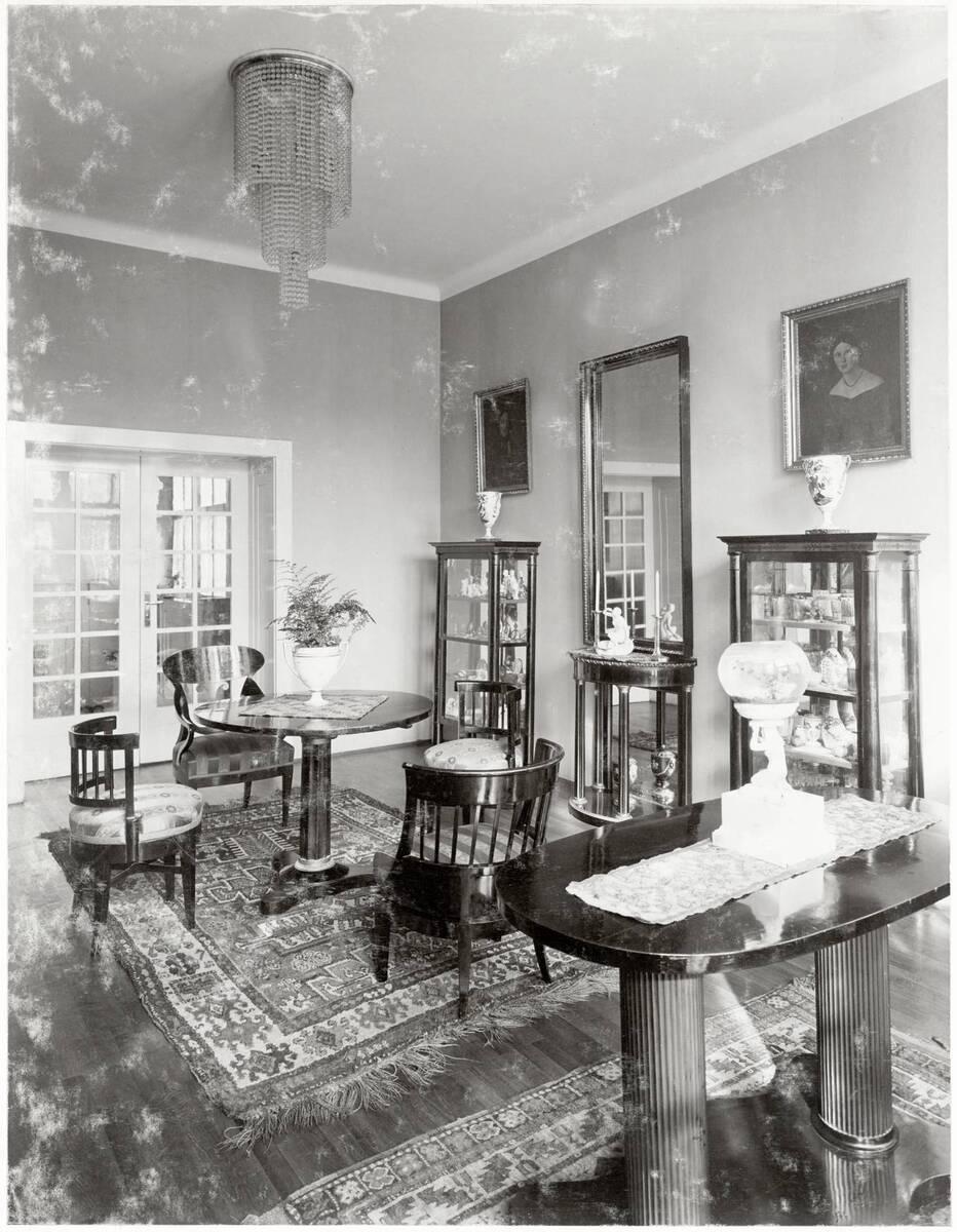 Salon, Wohnhaus Dr. Richard Beer-Hofmann, Wien XVIII, Hasenauerstraße 59 von Anonym