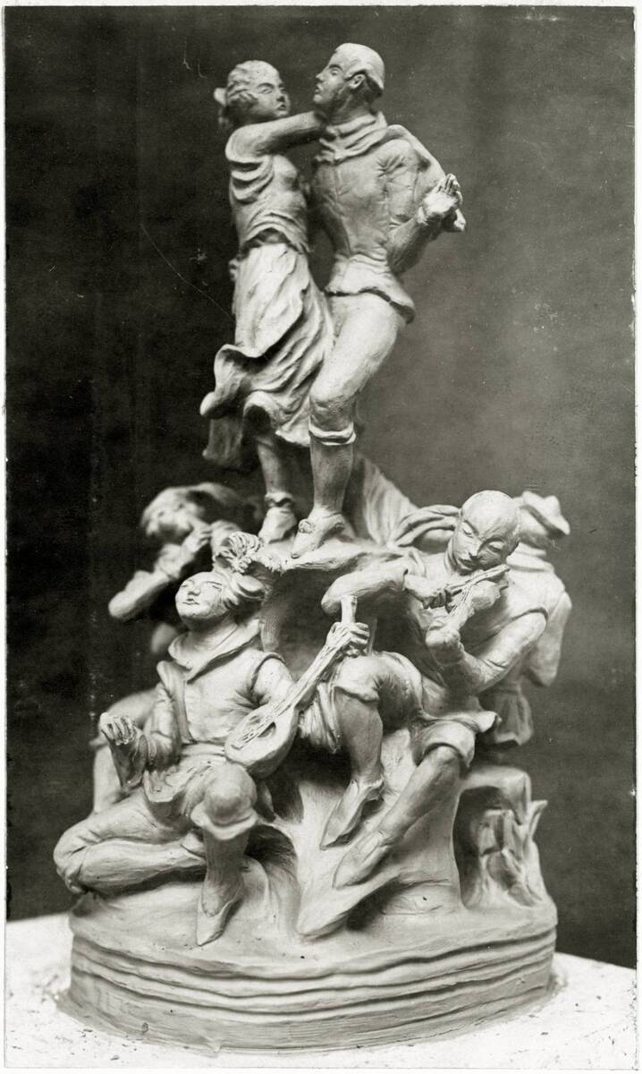 """""""Tanz"""" mit Musikanten von Wieselthier, Vally"""