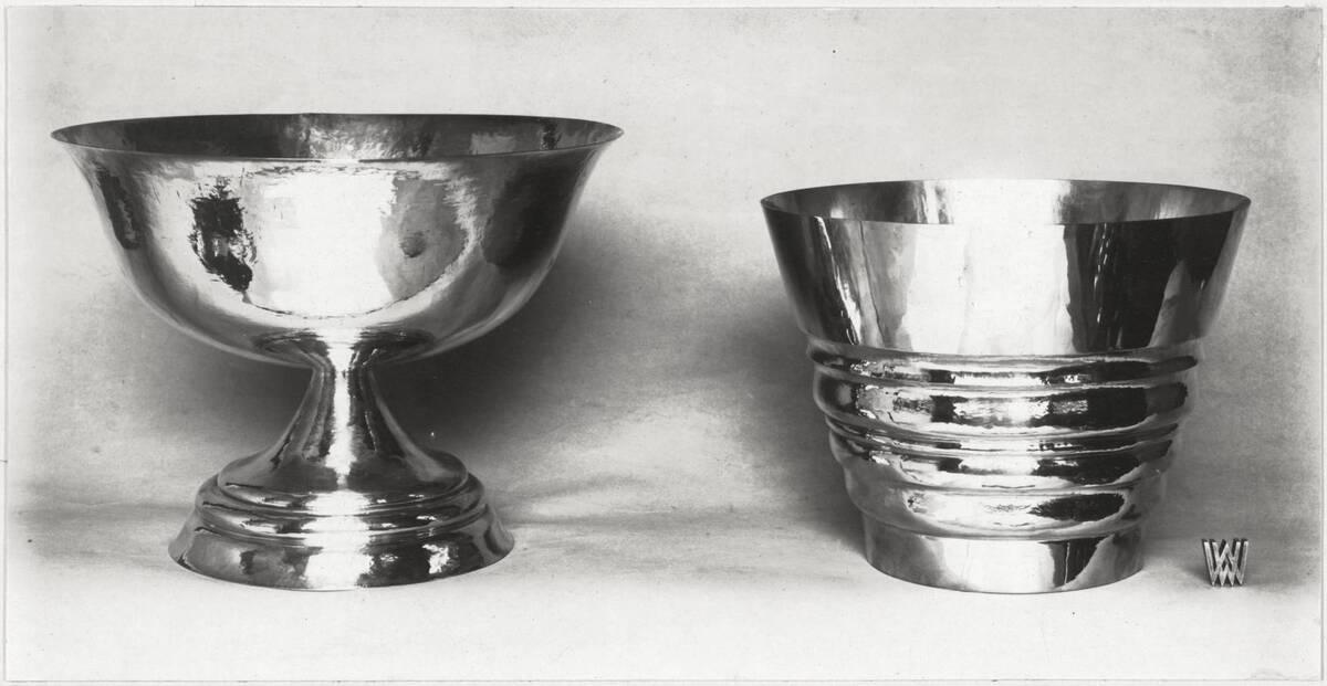 """""""Aufsatz"""", """"Vase"""" von Hoffmann, Josef"""