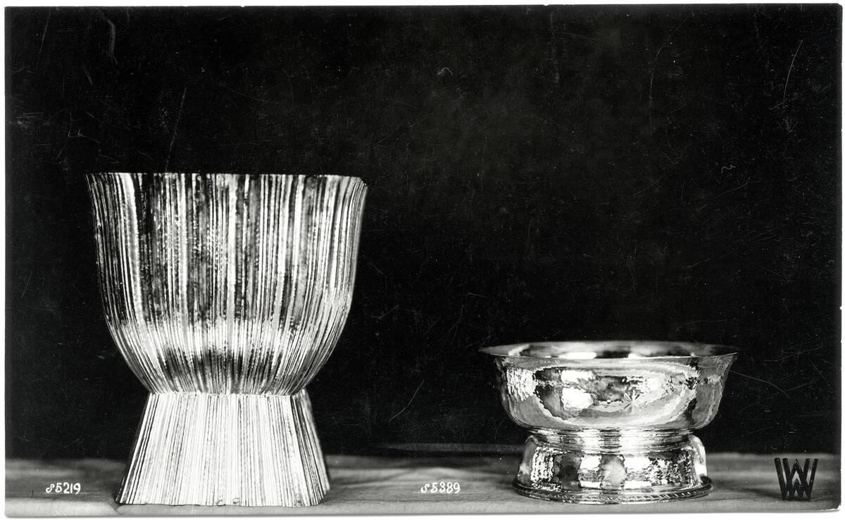 """""""Vase"""", """"Aufsatz"""" von Hoffmann, Josef"""