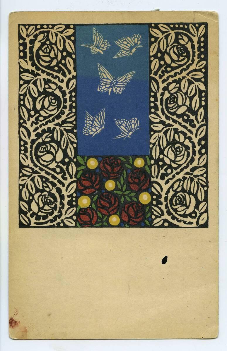 Postkarte Nr. 17 von Wiener Werkstätte