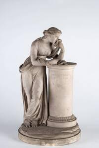 trauerndes Mädchen von Kaiserliche Porzellanmanufaktur Wien