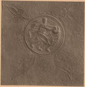 Fotografie eines gepressten Lederdetails aus der Sammlung von Camillo Castiglioni (vom Bearbeiter vergebener Titel) von Anonym