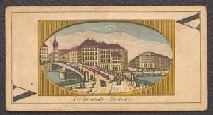"""Spielkarte """"Ferdinands - Brücke"""" (vom Bearbeiter vergebener Titel)"""