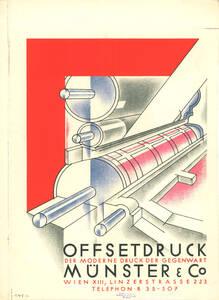Offsetdruck, Der moderne Druck der Gegenwart, Münster & Co (Kurztitel)
