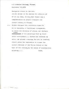 """Zusammenstellung der Zeitungsberichte über die Ausstellung """"Joseph Binder. Nonobjective Art"""" im Österreichischen Museum für angewandte Kunst, MAK vom 15.9. bis 29.10.1972 (vom Bearbeiter vergebener Titel) von Binder, Carla"""