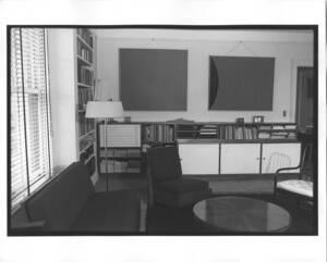 Fotografien von Interieur des Studios 100 Central Park South, New York (vom Bearbeiter vergebener Titel) von Binder, Joseph