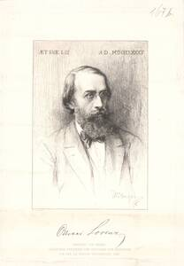 Portrait von Ottokar Lorenz von Unger, William