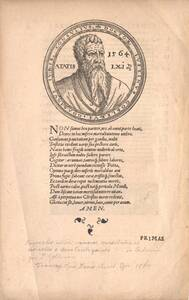 Portrait von Iustinus Goblerus von Anonym