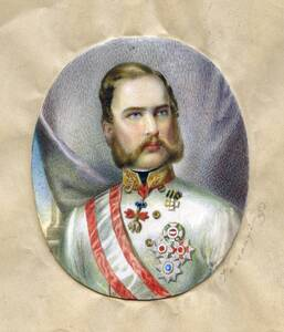 [Portrait Franz Joseph I.] von Varsányi, Eduard
