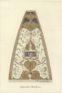 Kopie eines Zwickels des Plafonds in der Casino della Grotta (?) im Palazzo del Tè zu Mantova von Alfred Morgenstern von Morgenstern, Alfred
