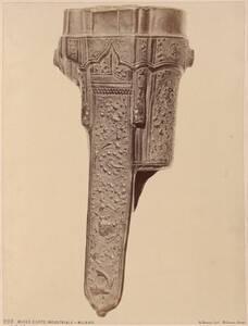 Fotografie eines Leder-Futterals für ein Jagdbesteck (vom Bearbeiter vergebener Titel) von Rossi, Giulio