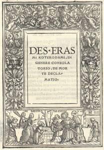 Titeleinfassung mit Tarquinius und Lucretia (vom Bearbeiter vergebener Titel) von Holbein, Hans