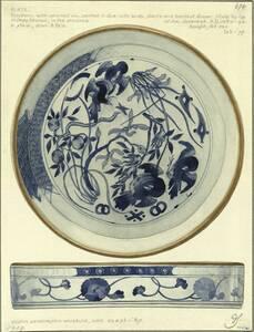 Kopie einer Schale aus dem South Kensington Museum (vom Bearbeiter vergebener Titel) von Schmoranz, Gustav
