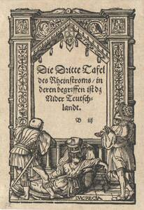 Titeleinfassung mit dem Tod der Lucretia (vom Bearbeiter vergebener Titel) von Holbein, Hans