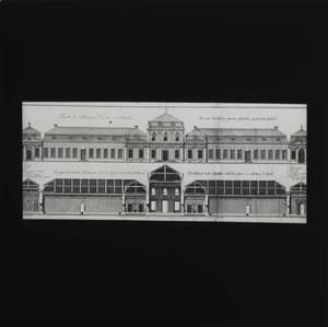 Schloss Belvedere (vom Bearbeiter vergebener Titel) von Anonym