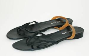 Sandale (Paar) - schwarz/beige von Helmut Lang <Firma>