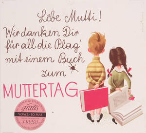 Buch zum Muttertag (Kurztitel) von Atelier Koszler