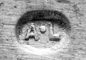 Digitales Foto einer Punze von Lachmann, Anton