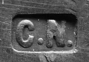 Digitales Foto einer Punze von Nagel, Carolina