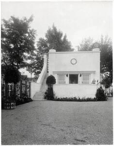 Gartenpavillon, Landhaus Heinrich Böhler, Baden bei Wien, Pelzgasse 11 von Anonym